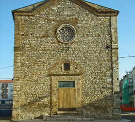 the Church of Rotello - Molise the extra virgin olive oil city