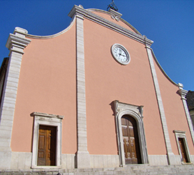 Santa Maria degli Angeli Church, Rotello, Molise, Italy