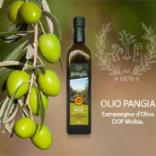Pangia oil in a bottle